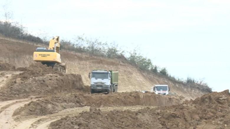 autostrada alunecari teren