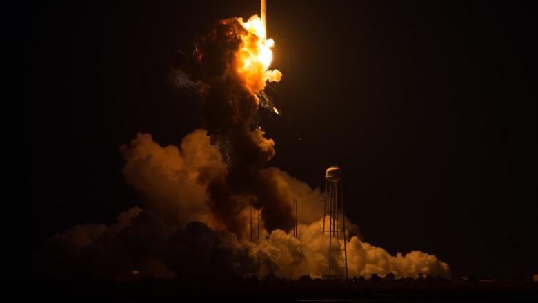 Explozie racheta la NASA Antares 28 octombrie 2014 - Guliver GettyImages 1