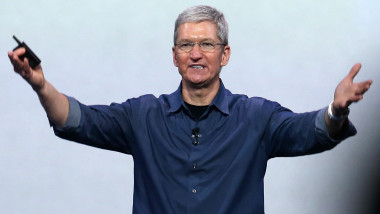 tim cook - getty