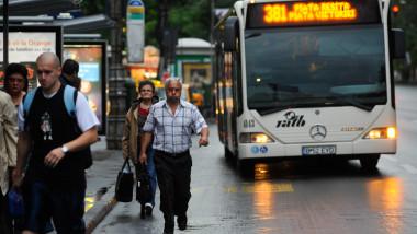 Autobuz RATB - Mediafax 1