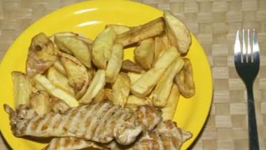 friptura cu cartofi crop