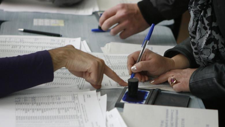 alegeri -Mediafax Foto-Liviu Chirica