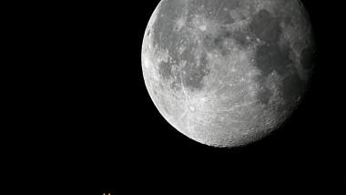 Foto Conjunctie Luna - Uranus 4 nov. 2014