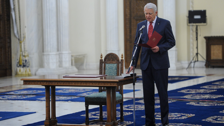 melescanu juramant presidency