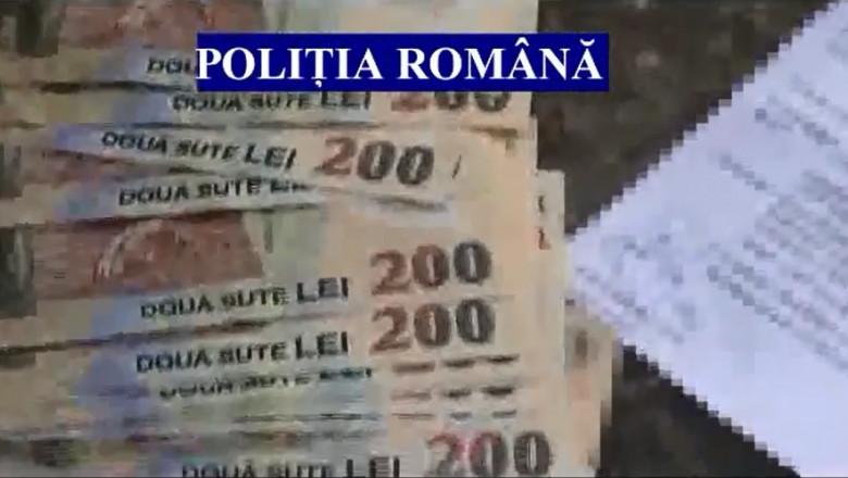 bani banca politia romana