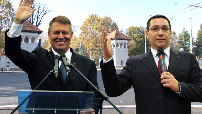 Colaj nou Ponta si Iohannis Digi24 2