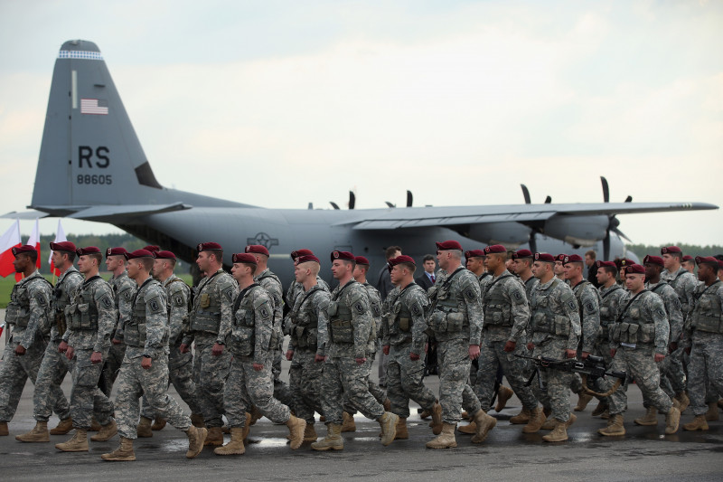 Militari american in Polonia - Guliver GettyImages