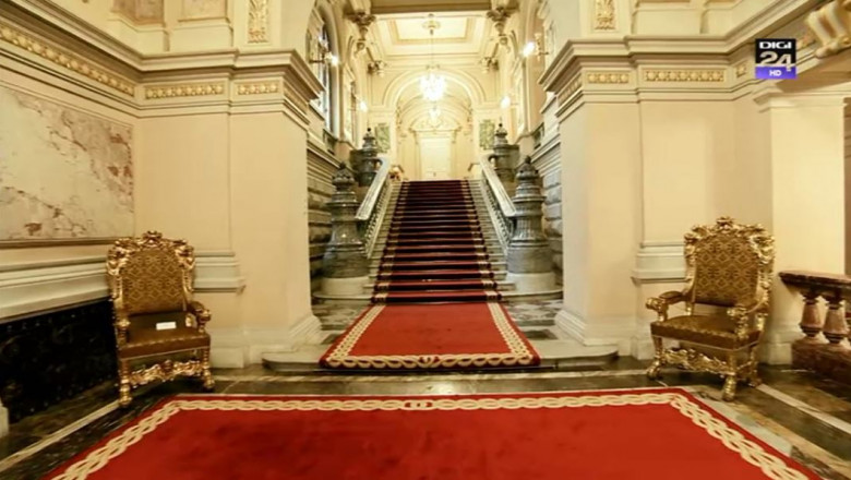 interior palatul cotroceni