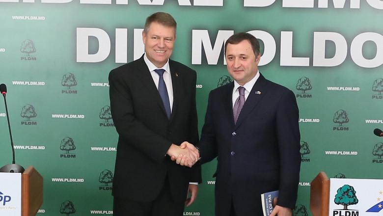 Klaus Iohannis si Vlad Filat - facebook.comVladFilatUE 4