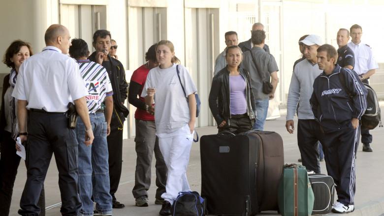 imigranti romani afp