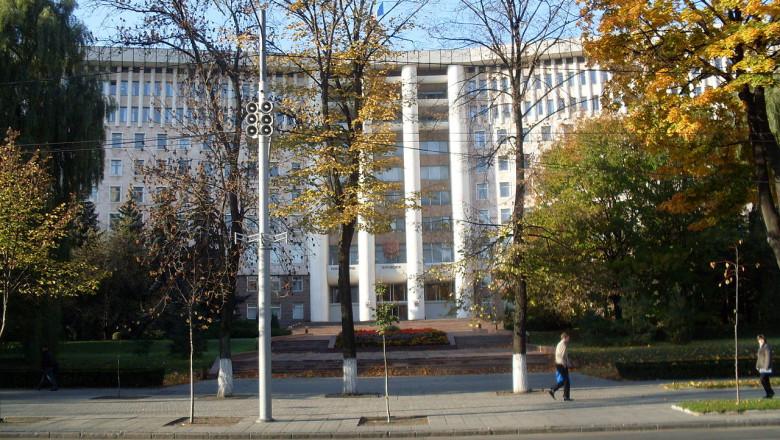 Parlamentul de la Chisinau Republica Moldova - wikipedia