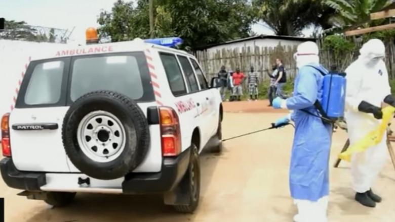 dezinfectare ebola