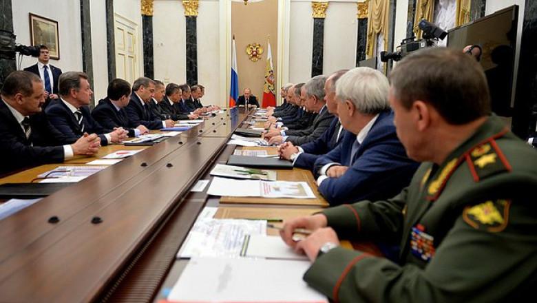 consiliul rus de securitate