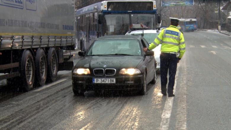 politist razie iarna 1