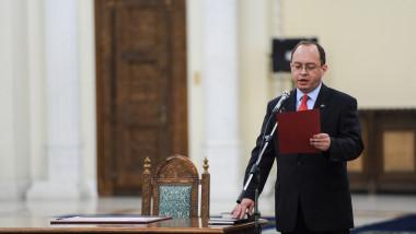 Bogdan Aurescu juramant - presidency 1