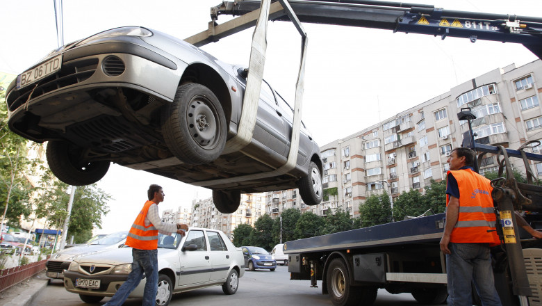 masini parcare ilegala ridicare mediafax