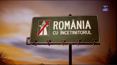 romania cu incetinitorul