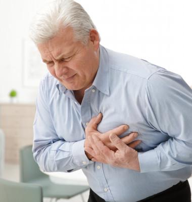 infarct durere inima