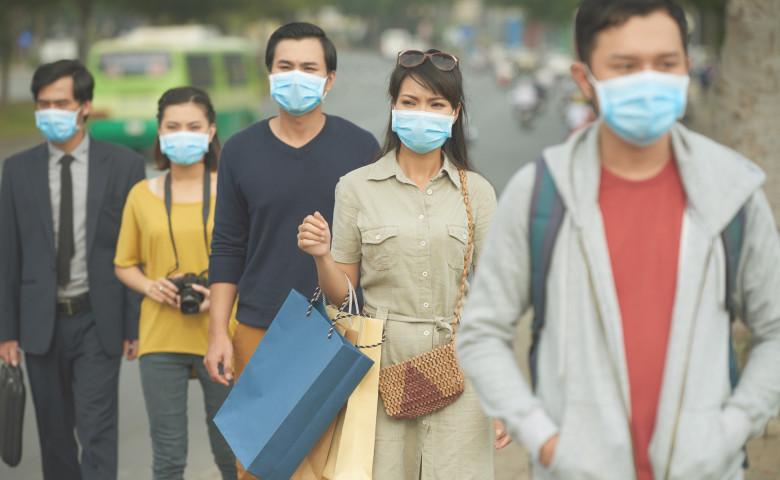 epidemie boala masca fata oameni