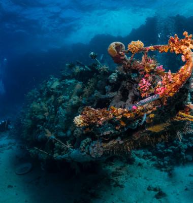 nava scufundata