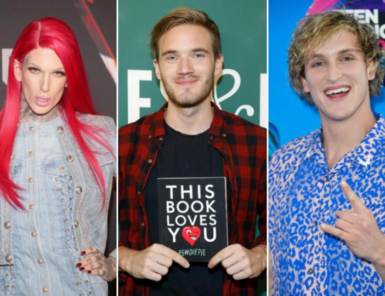 cei mai bine platiti vloggeri 2018
