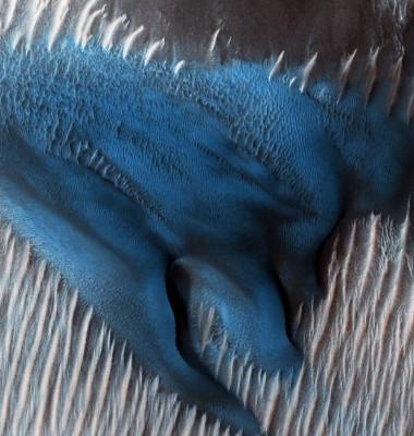 duna albastra nasa