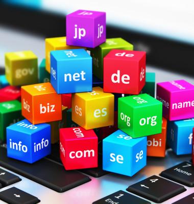 multe domenii colorate pe o tastatura