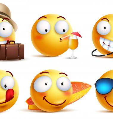 6 emoji-uri de vara