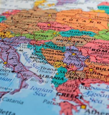 harta europa X