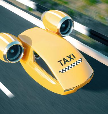 taxi zburator