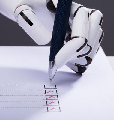 robotul care scrie de mana
