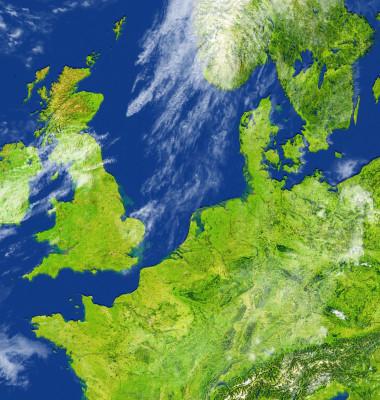 harta anglia marea britanie europa
