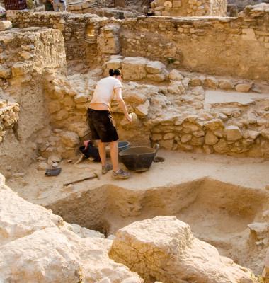 sit arheologic sapaturi palat