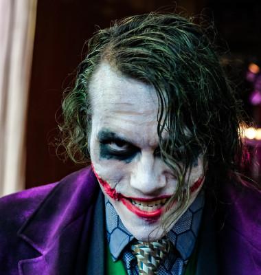 joker cosplayer