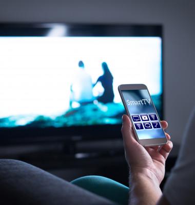 smartphone si TV