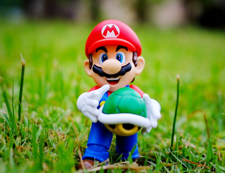 personaj joc video super mario