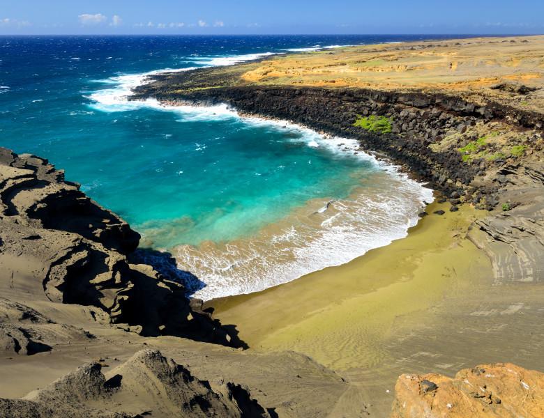 nisip verde hawaii