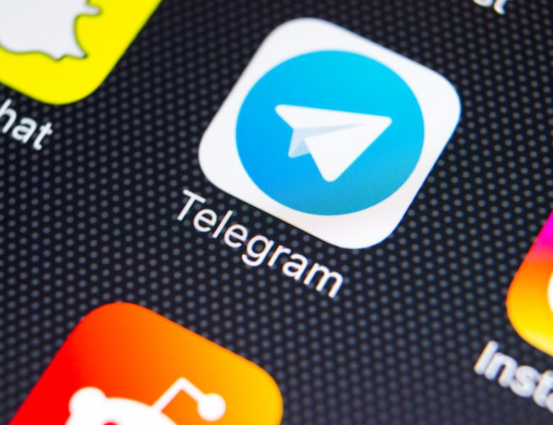 Sankt-petersburg,,Russia,,February,9,,2018:,Telegram,Application,Icon,On,Apple