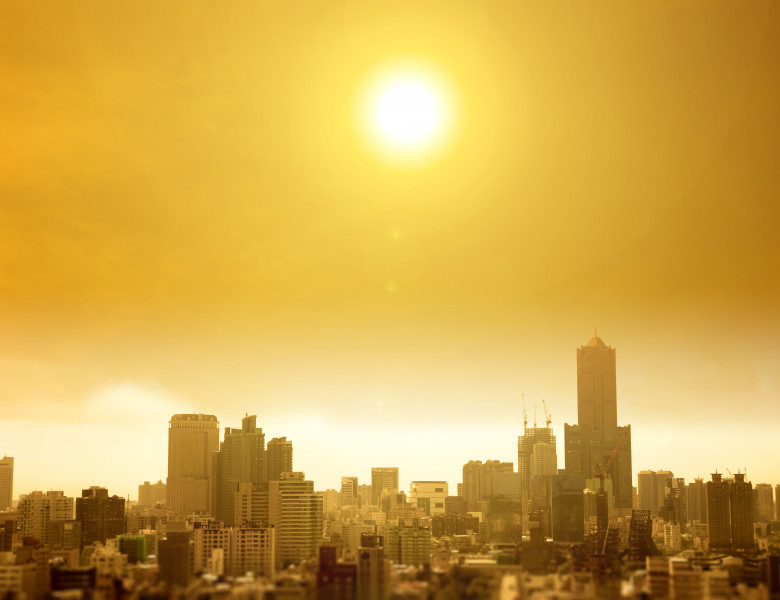 Summer,Heat,Wave,In,The,City
