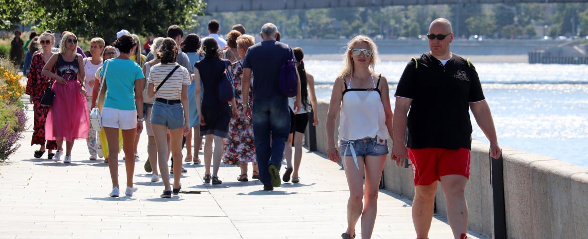 val de canicula in moscova, 2021