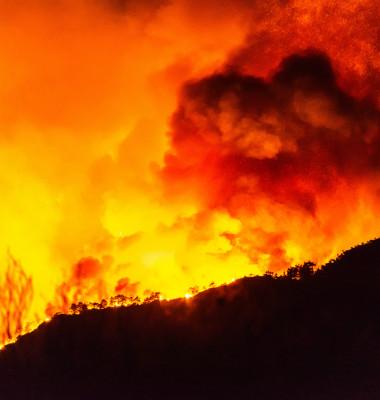 Marmaris,,Mugla,,Turkey,–,July,29,,2021.,Flames,Of,Forest