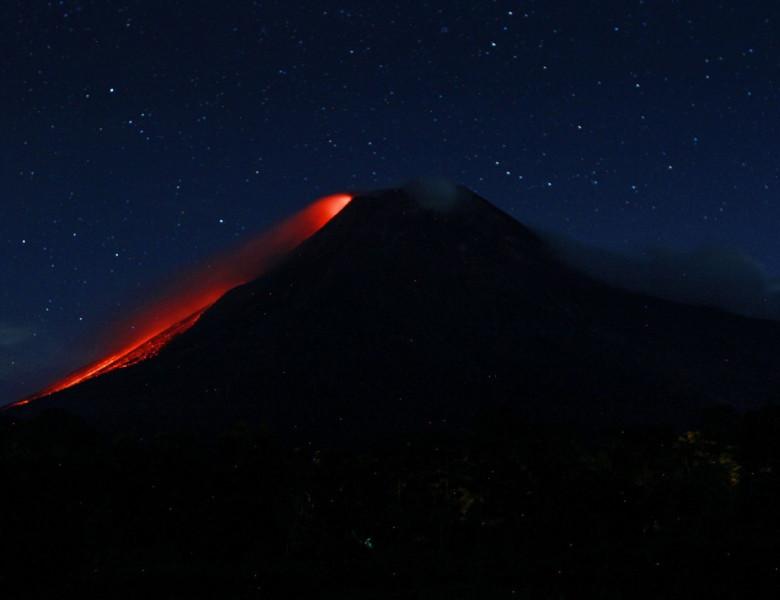 vulcanul Merapi