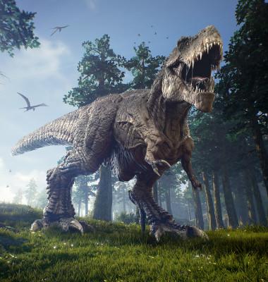dinozaur tiranozaur