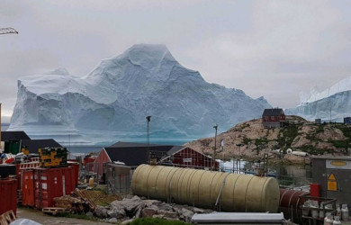 Aisberg în Groenlanda