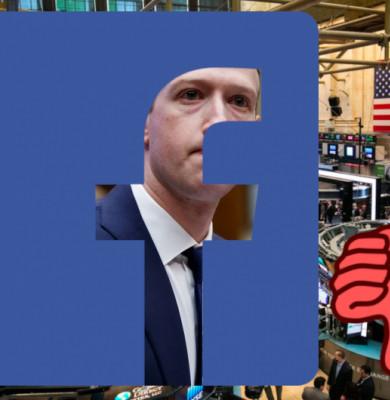 Scădere Facebook