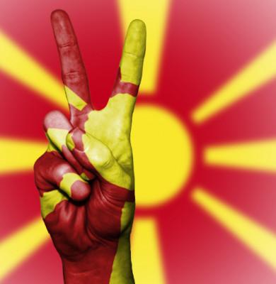 Semnul păcii cu Macedonia