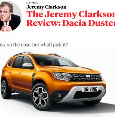 Recenzie Dacia Duster Jeremy Clarkson