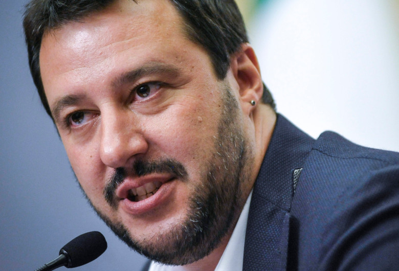Matteo Salvini, ministrul de Interne al Italiei