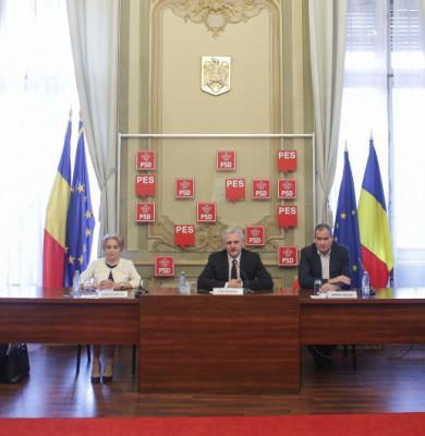 PSD cu Viorica Dăncilă,Liviu Dragnea și alții