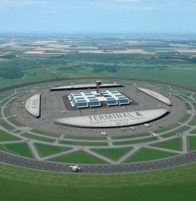 Aeroport cu pistă circulară